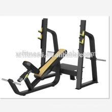 Imprensa de banco comercial do declínio da máquina do exercício do Gym