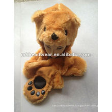 New Designed Long style Plush Animal Hat