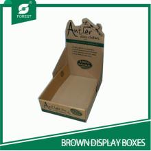 Индивидуальные коробки из гофрокартона Дисплеи из гофрированного PDQ