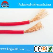 1,5mm, 2,5mm, 4mm, 10mm Single Core Flexible elektrische Verdrahtung, PVC isolierte Kabel Draht