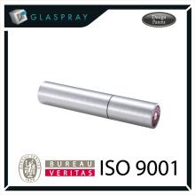 15ml SOLE Slim CNC Brushed Silver Twist up Recharge Parfum Spray