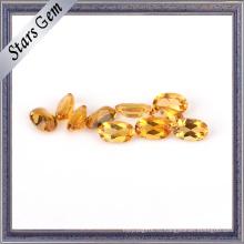 Хорошее качество блестящий желтый натуральный цитрин драгоценных камней для ювелирных украшений