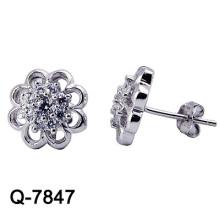 Nouvelle conception 925 bijoux en argent sterling avec boucles d'oreilles (Q-7847. JPG)
