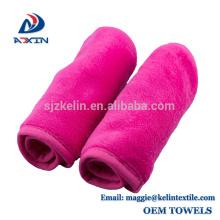 Juego de paños de limpieza para maquillaje 2 paquetes de toallitas de limpieza para toallitas sin químicos de color negro