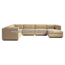 L shape modern living room sofa XY0972