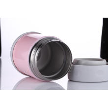 Stainless Steel Vacuum Food Jar Svj-350e Pink