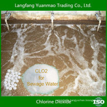 Lowest Price Chlorine Dioxide Powder for Sewage Water Treatment