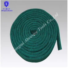 almohadilla abrasiva de limpieza con rodillo abrasivo no tejido verde