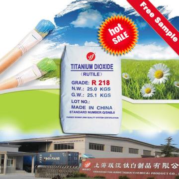 Titandioxid Rutil R218 gegen Kronos 2310