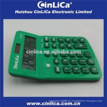 Mini Tischrechner Steuer mit Kugelschreiber