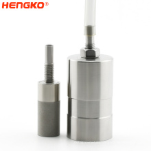 Stainless steel housing Excellent Filtration Performance Metal Powder High Temperature Sintered Micro Filter