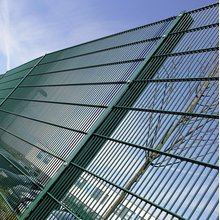 pvc bersalut double wire mesh panel pagar
