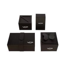 Caja de regalo de papel rígido de lujo personalizado
