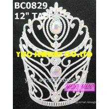 Kundenspezifische Schönheitswettbewerb Kristalltiara