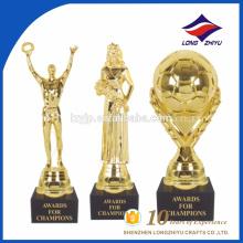 Female character trophy elegant Oscar character trophy