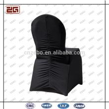 Fabrik Made Polyester Schwarz Universal Spandex Custom Stuhl Abdeckung