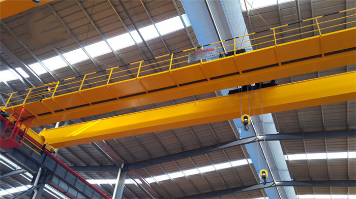 New Type Double Beam EOT Crane