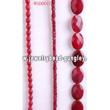 Gemstone wholesale beads with dyed color