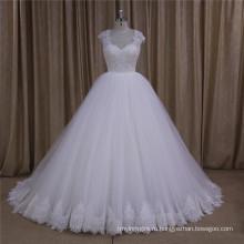 Последний Простой Длинным Рукавом Свадебное Платье