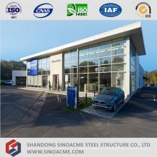 Metal Frame Structure Car Dealers Car Shop