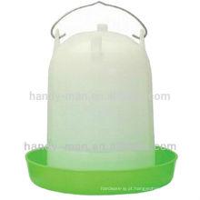 119 7L de alta qualidade em plástico tipo reto para alimentador de frango Aves de capoeira