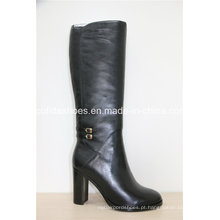 16fw New Fashion Sexy High Heels Lady Leather Boots