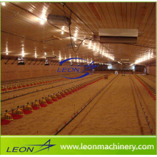 Leon series semi-automatic broiler feeding system for poultry farm