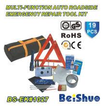 19PCS Roadside Emergency Car Tool Bag Set