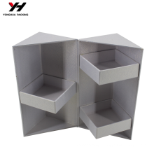 China suppliers new design white paper gift box/jewelry box