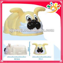 Пластиковый милый животное милый кролик горшок ребенка обучение горшок ребенка продукт