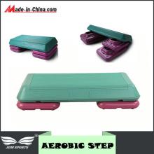 Fitness Aerobic Step Adjustable Exercise Stepper Board (71cm X 36cm)