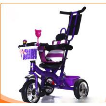 Детская коляска с трехколесным велосипедом и велосипедная прогулочная коляска