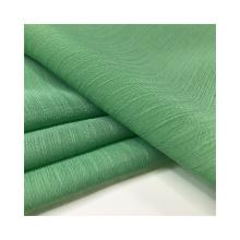 New process 53% eco-friendly silk 47% polyester eco-friendly silk chiffon crepe fabric
