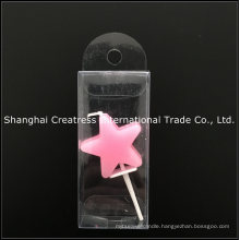 Brc Approved Factory Pink Star Shaped Candle Company Supplier