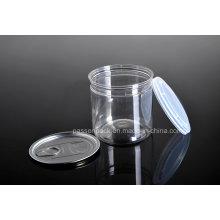 A embalagem de alimento fácil-aberta do plástico do animal de estimação pode com tampão plástico (PPC-CSRN-028)