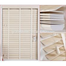 Fauxwood de PVC de 50 mm impresa Persianas venecianas horizontales