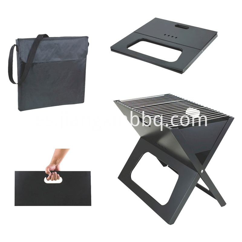 Portable Charcoal Grill with Tote