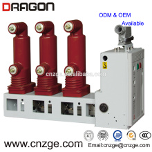 Disjoncteur à vide d'intérieur à haute tension de 11kv 630a / poteau intégré