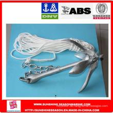 ABS - Grapnel Anker mit Ankerseil