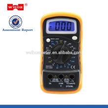 CE do multímetro digital DT858L com luminoso com temperatura com GS