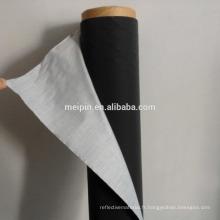 Tissu noir réfléchissant TC
