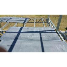 Erschwingliche vorgefertigte Stahlstruktur Familienhaus mit Zementplattenboden