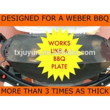 Conjunto de 2 churrasco Grill Mats-melhor ferramenta de churrasco no mercado de fazer grelhar mais fácil