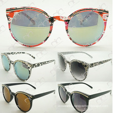 Special and New Fashion with Metal Decoration for Unisex Plastic Sunglasses (WSP504118)