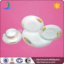 Hotel Porcelain Dinnerware Set With Simple Design