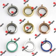 Vente en gros 25mm en acier inoxydable Magnets Glass Floats Story Lockets (LDD60128)
