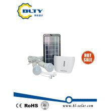 3W Solar Home pequeño sistema de iluminación