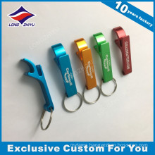 Custom Metal Bottle Opener Keychain with Colors