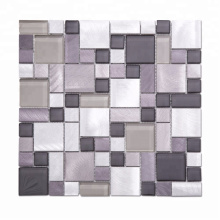 High Quality Stainless Steel Mosaic Modern Mosaic Tile for Wall