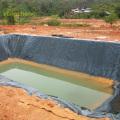 Imprägnierung Schwimmbadfolie HDPE gewebte Folie